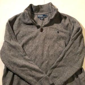 Ralph Lauren Polo 1/2 Zip Polo Sweater